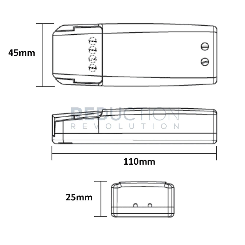 medium resolution of verbatim 12v led transformer 0 50w