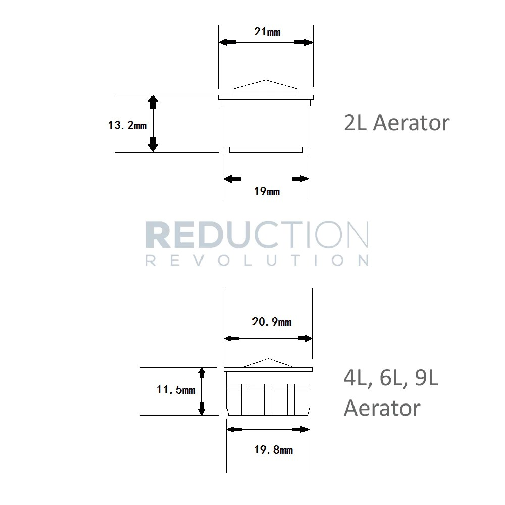 hight resolution of tap aerator insert flow restrictor