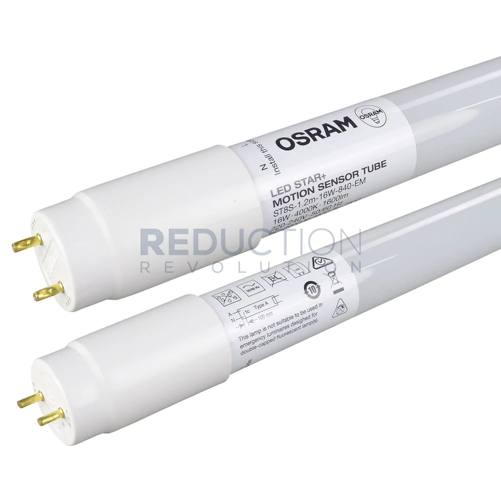 osram led star motion sensor tube 16w 4ft details [ 1000 x 1000 Pixel ]