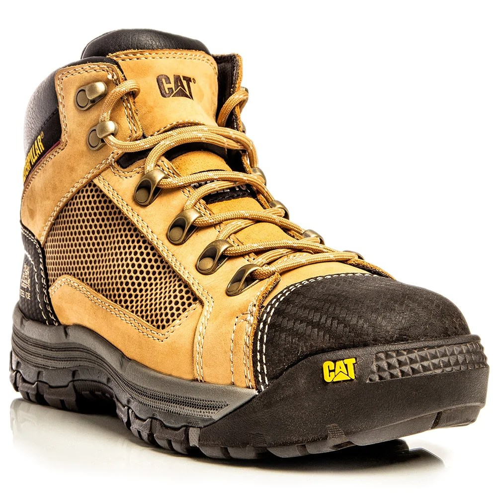 Cat Convex Steel Toe Breathable Work Boot Workwear