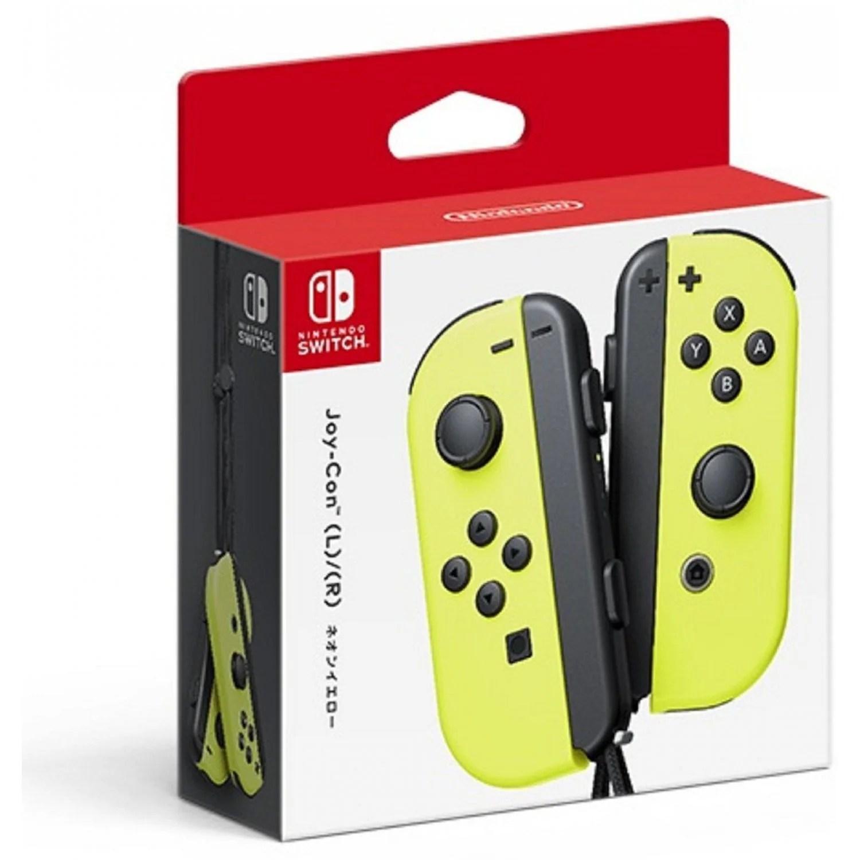 Nintendo Switch Joy Con Controllers Neon Yellow