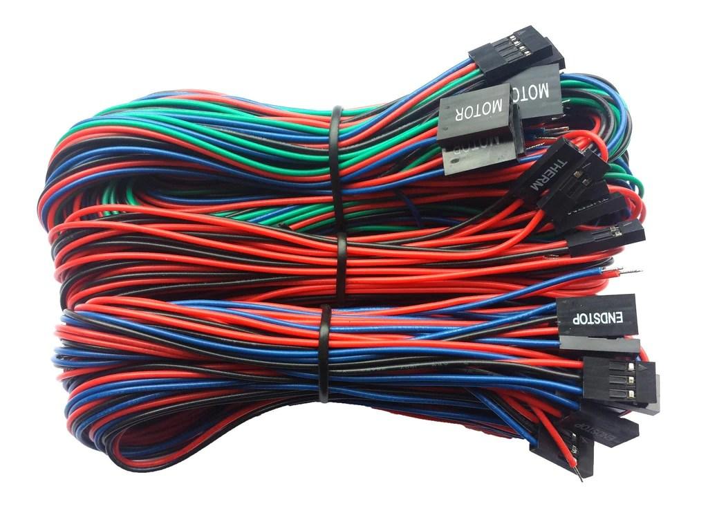 medium resolution of generic parts ramps basic wiring kit for reprap 3d printers
