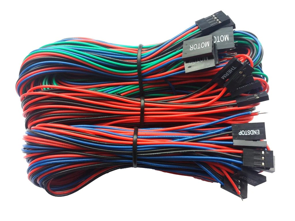 small resolution of generic parts ramps basic wiring kit for reprap 3d printers