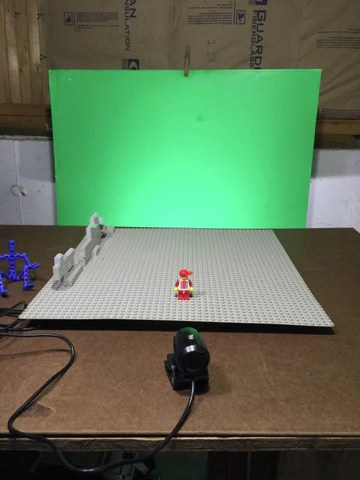 ChromaKeying for Stop Motion Animation Choosing