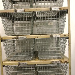 Kitchen Wire Storage Pfister Faucet Vintage Locker Pool Metal Baskets Organizer Basket System