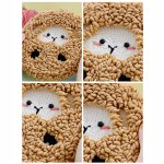 Diy Punch Needle Embroidery Starter Kit Rug Hooking For Home Decoration Sheep