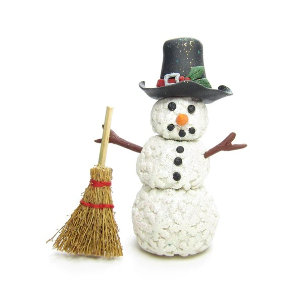 Miniature Broom Natural Straw Craft Broomstick For
