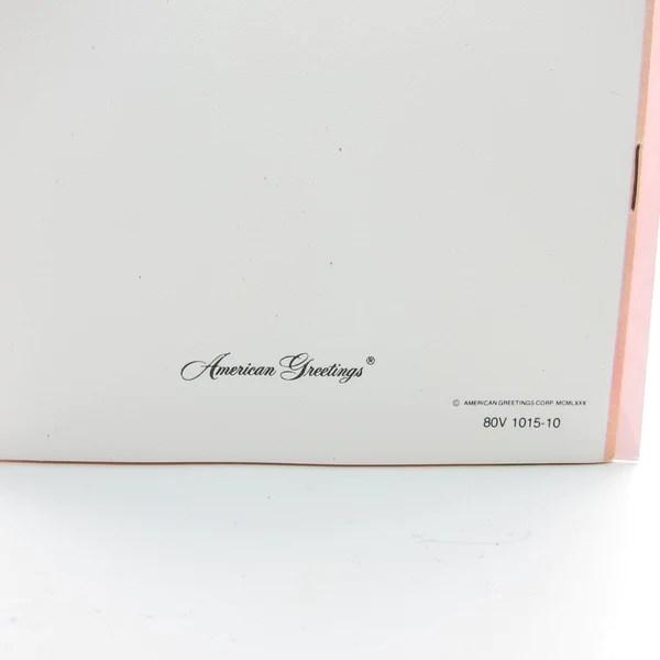 Valentines Day Strawberry Shortcake Paper Doll Card