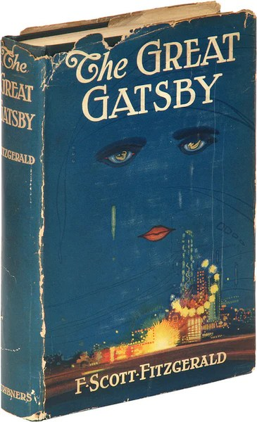 The Brokedown Palace  Francis Cugats Great Gatsby Book Cover