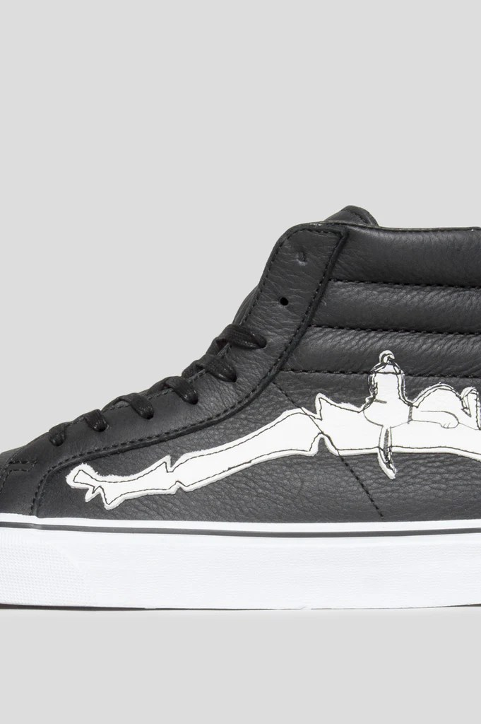 ec55625d06e X Peanuts Sk8 Hi Reissue In Joe Coolblack Vans Joe Cool - Modern ...