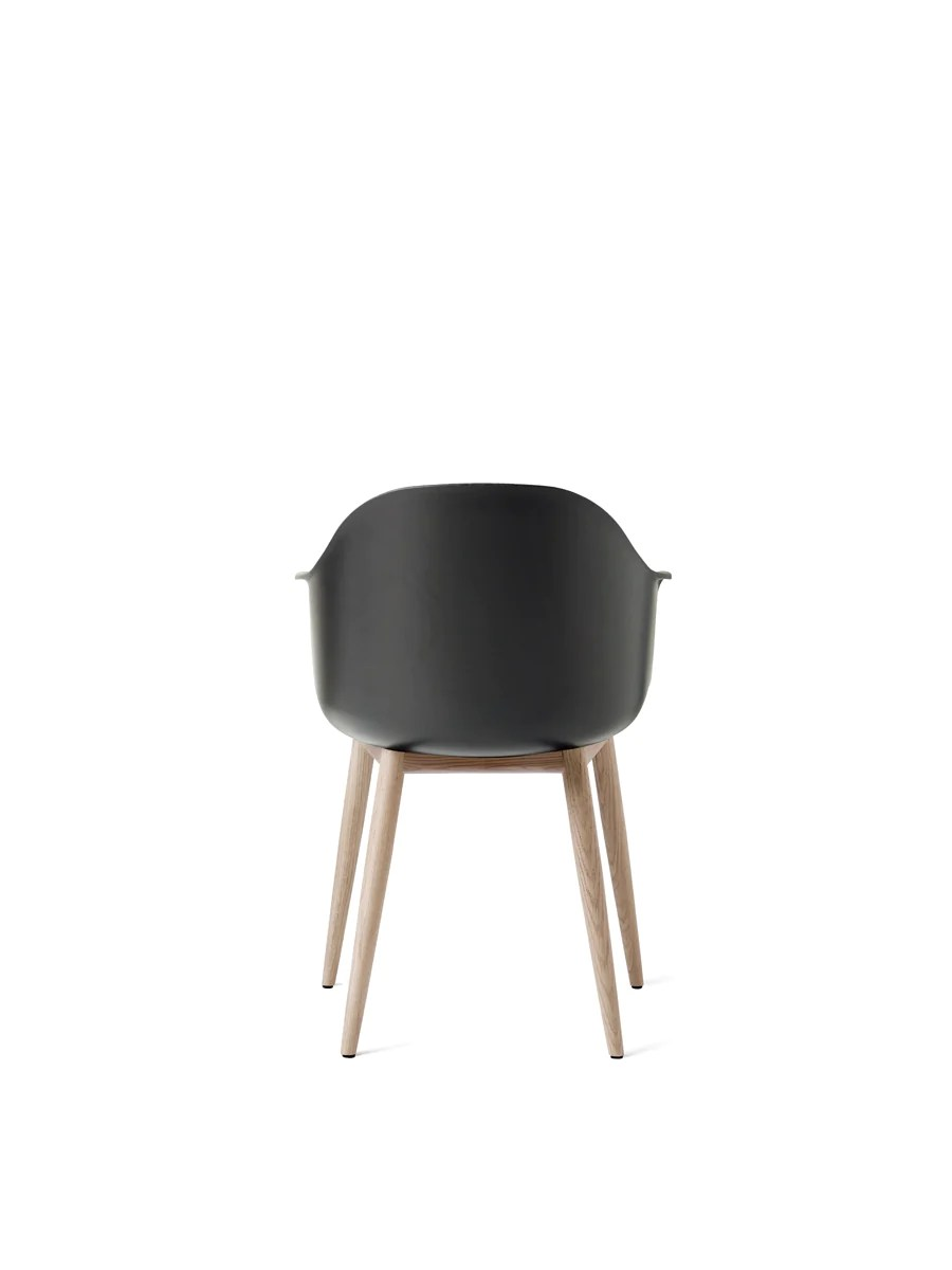 black plastic chair with wooden legs fishing tent harbour wood shell in assorted colors by menu