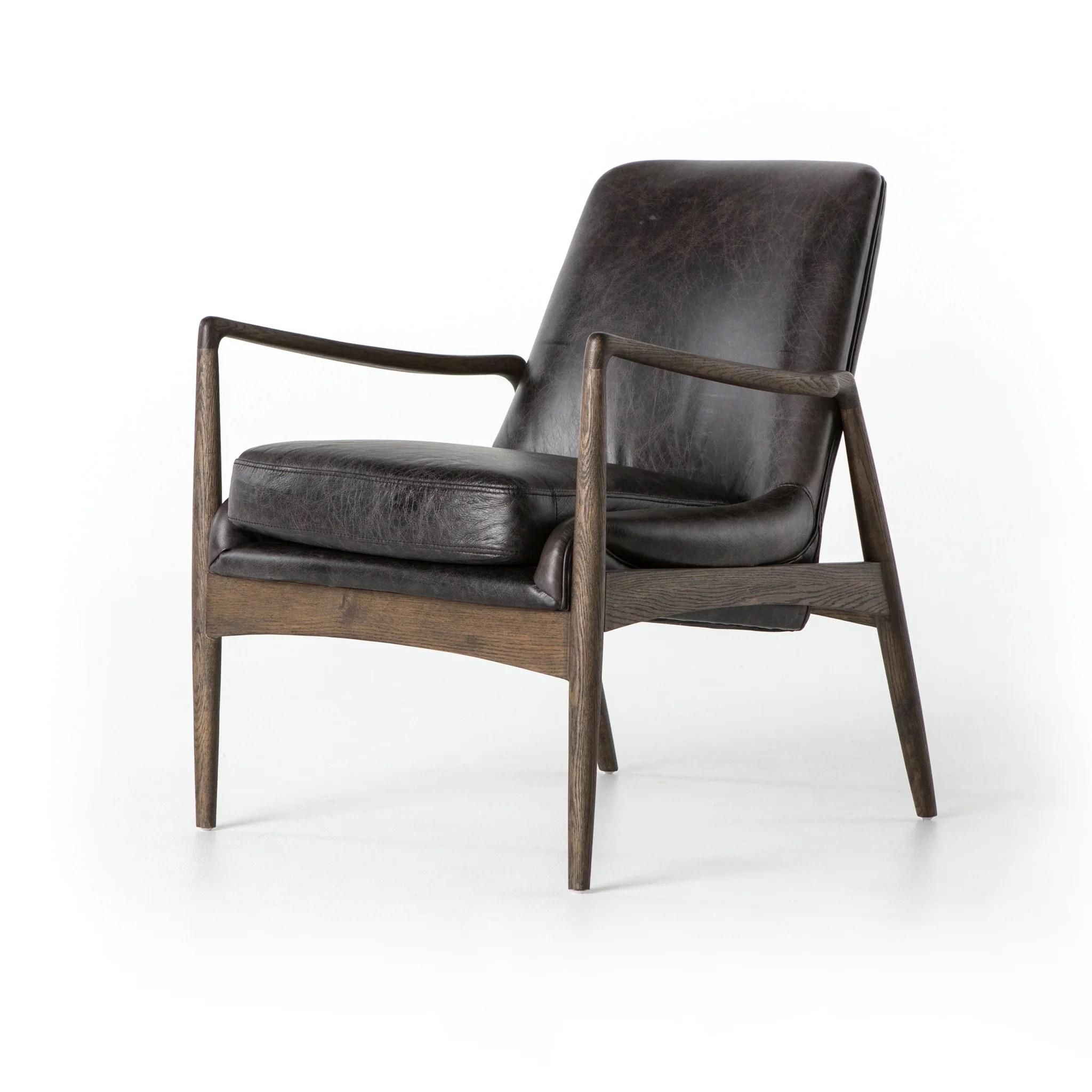 chair design bd high stand aidan leather in durango smoke by studio burke decor