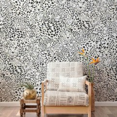 Chair Design Wallpaper Barrel Swivel Black And White Modern Designs Burke Decor Cheetah Vision In Haze By Aimee Wilder