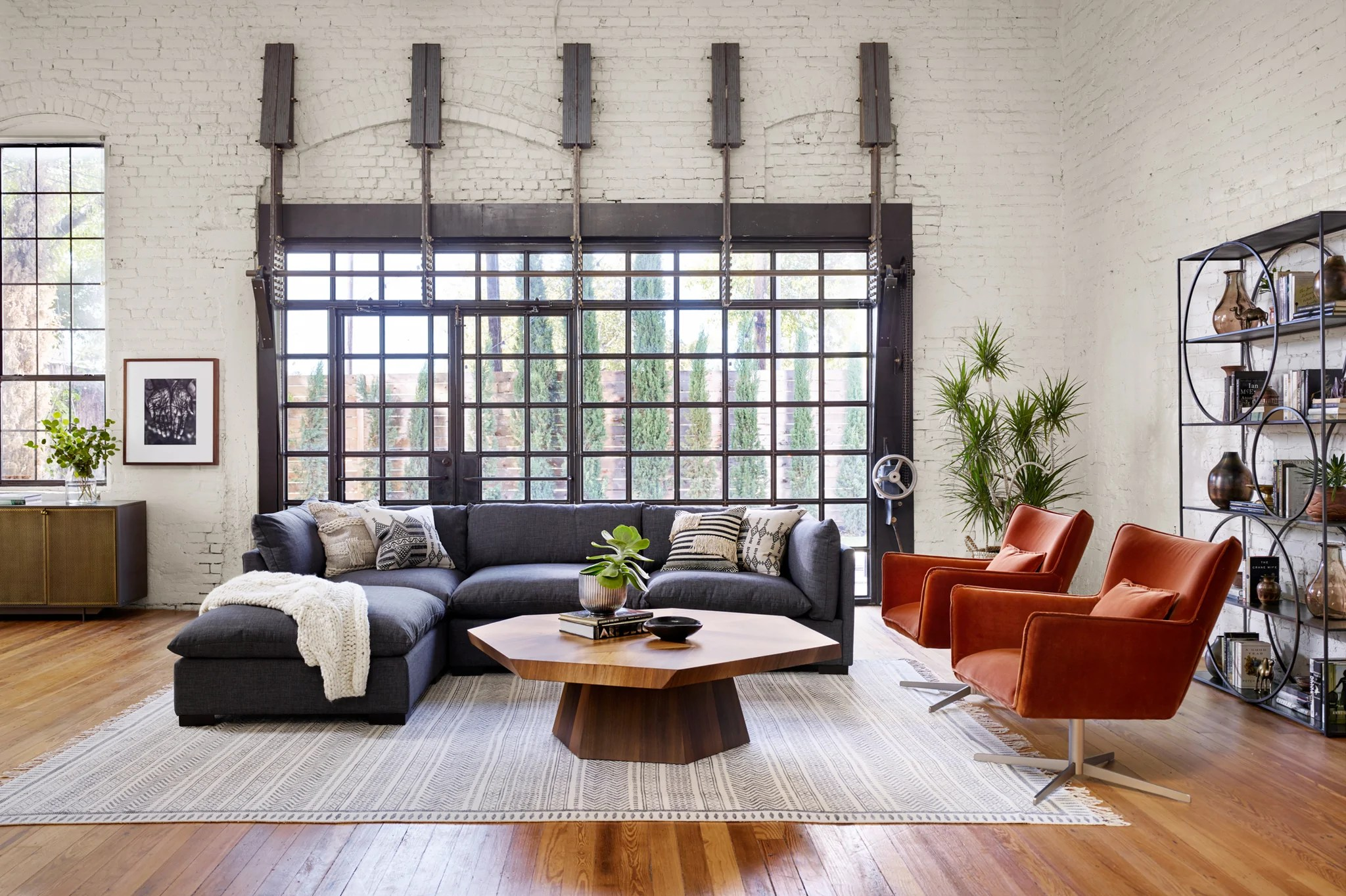 piece sectional with ottoman