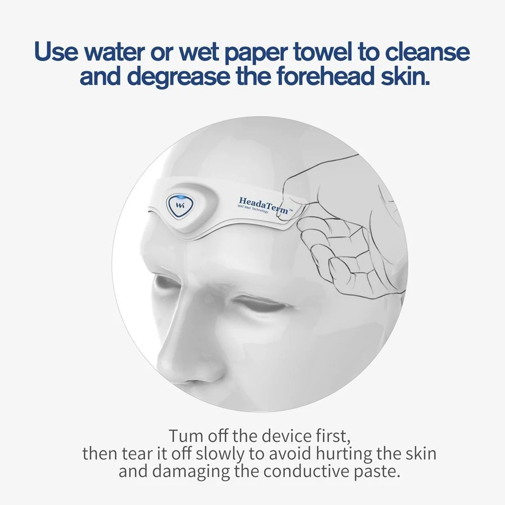 watmedical headaterm tens device for headache migraine pain relief migraine relief store  [ 1000 x 1000 Pixel ]