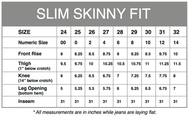 Please use our size chart to see where you fit if have any questions call us at we are here help also the skinny jean aviator rh aviatorusa