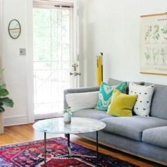 Apartment Therapy Living Room Candice Olson Decor Home Tour Bohemian Bomisch July 14 2016 0 Comments
