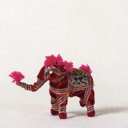 Elephant - Gota Work Toy / Home Decor Item (Small)
