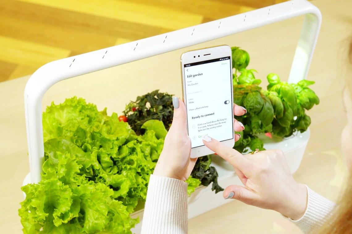 The Smart Garden 9 Pro Indoor Gardening System Click Grow