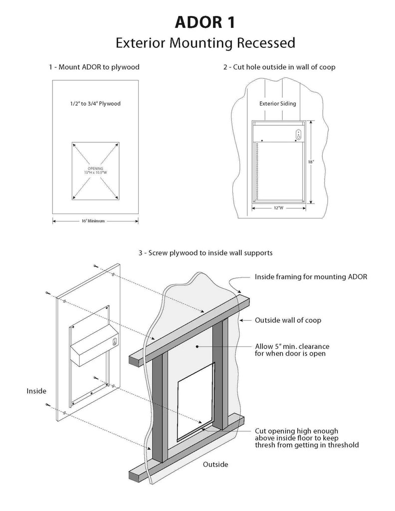 ador1 automatic chicken door adorstore automatic chicken door  [ 792 x 1024 Pixel ]