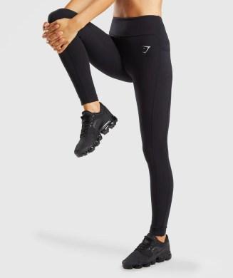 Gymshark Aspire Leggings - Black 4