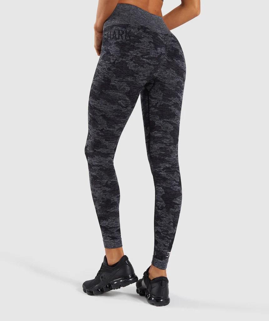 gymshark camo seamless leggings