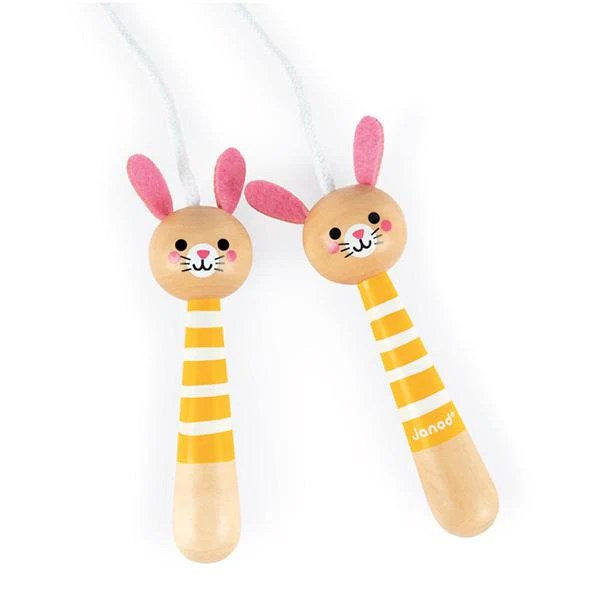 Wooden Handle Skipping Rope Janod Toys Lucas Loves Cars