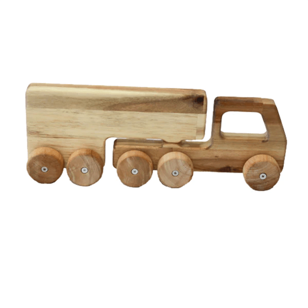 Qtoys Solid Wooden Truck Toy Australian Toys Store