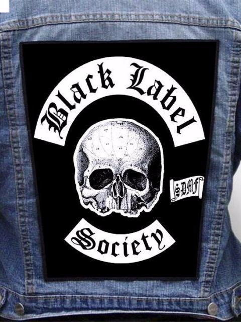 Black Label Patch : black, label, patch, Black, Label, Society, Brewtality, Metalworks, Patch, Metal, Bristol