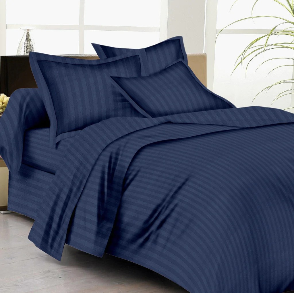 Navy Blue Bed Sheets