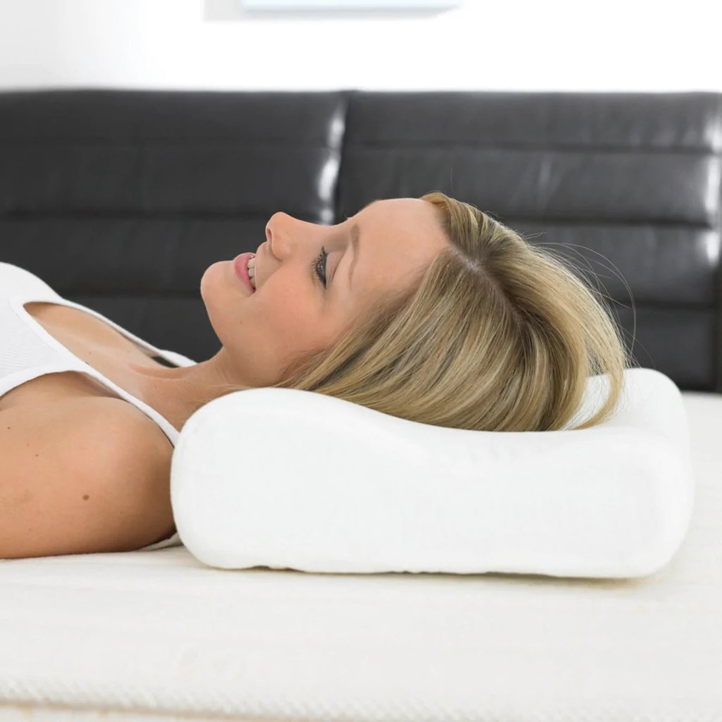 Buy Natural Latex Contour Pillow  Nirvana online in India