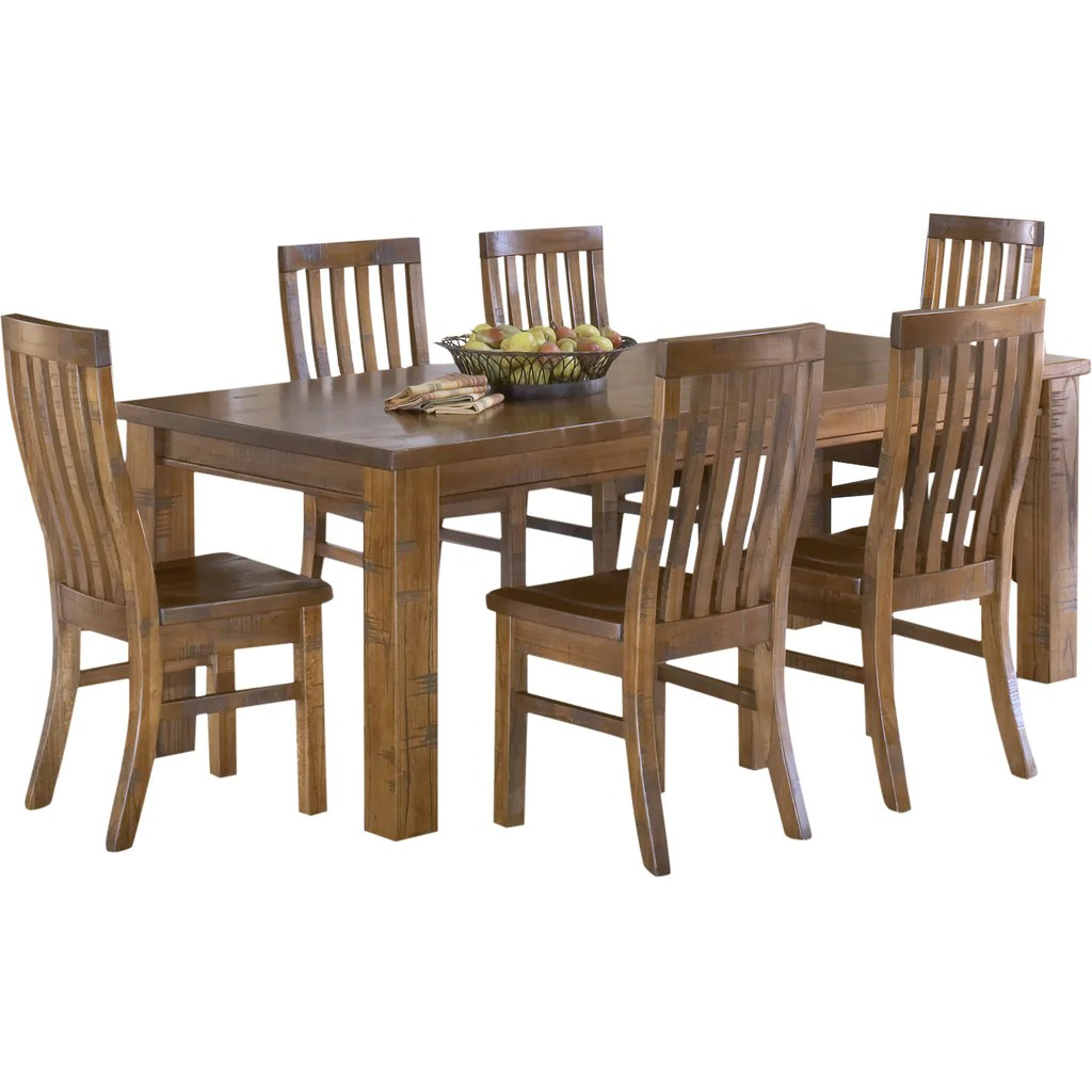Teak Dining Room Chairs Buy Teak Wood Dining Table Languedoc Online In India Best
