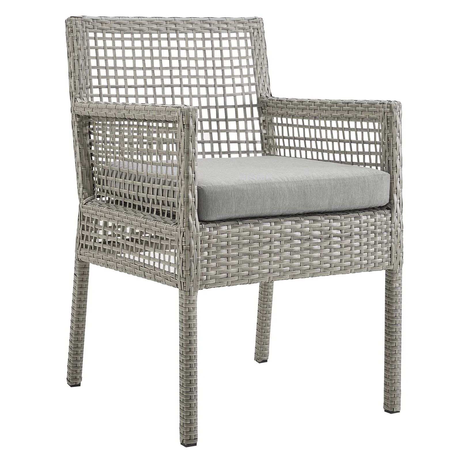 outdoor dining chairs sale van gogh chair modway on eei 2920 gry aura patio wicker rattan armchair gray