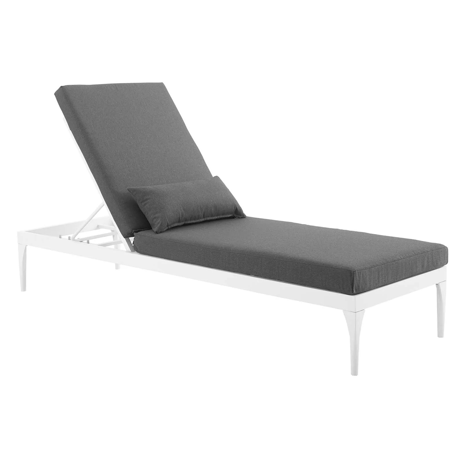 White Outdoor Lounge Chair Modway Outdoor Lounge Chairs On Sale Eei 3301 Whi Cha Perspective Cushion Outdoor Patio Chaise Lounge Chair Only Only 477 25 At Contemporary