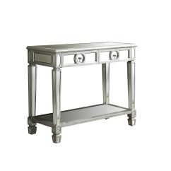 Monarch Specialties Mirrored 38 Sofa Console Table With Drawers Mercado Libre Mexico Cama Individual Amazing Deal On I 3700 Accent