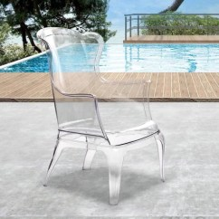 Transparent Polycarbonate Chairs Toddler High Chair Seat Amazing Deal On Zuo Modern 110030 Vision Armchairs 816226026317 Only 567 80