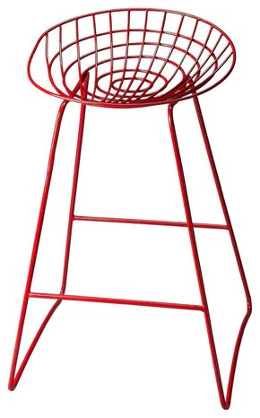 red chairs for sale office chair quikr delhi bar stools at contemporary furniture warehouse ludwig transitional round stool