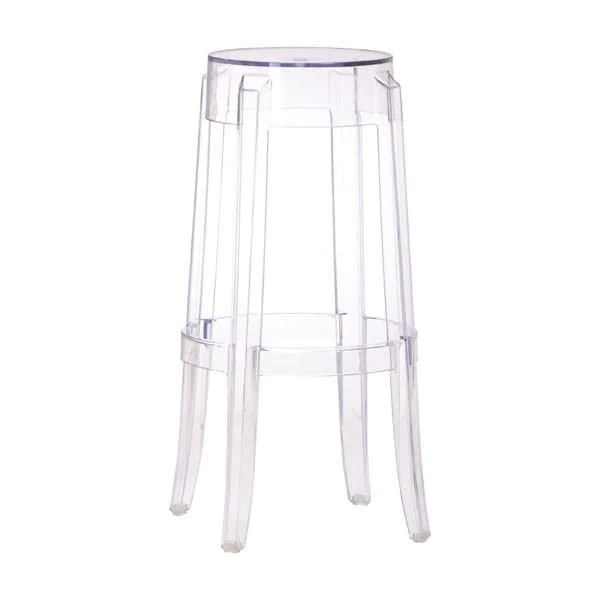 transparent polycarbonate chairs shell chair knock off amazing deal on zuo modern 106106 anime barstool bar