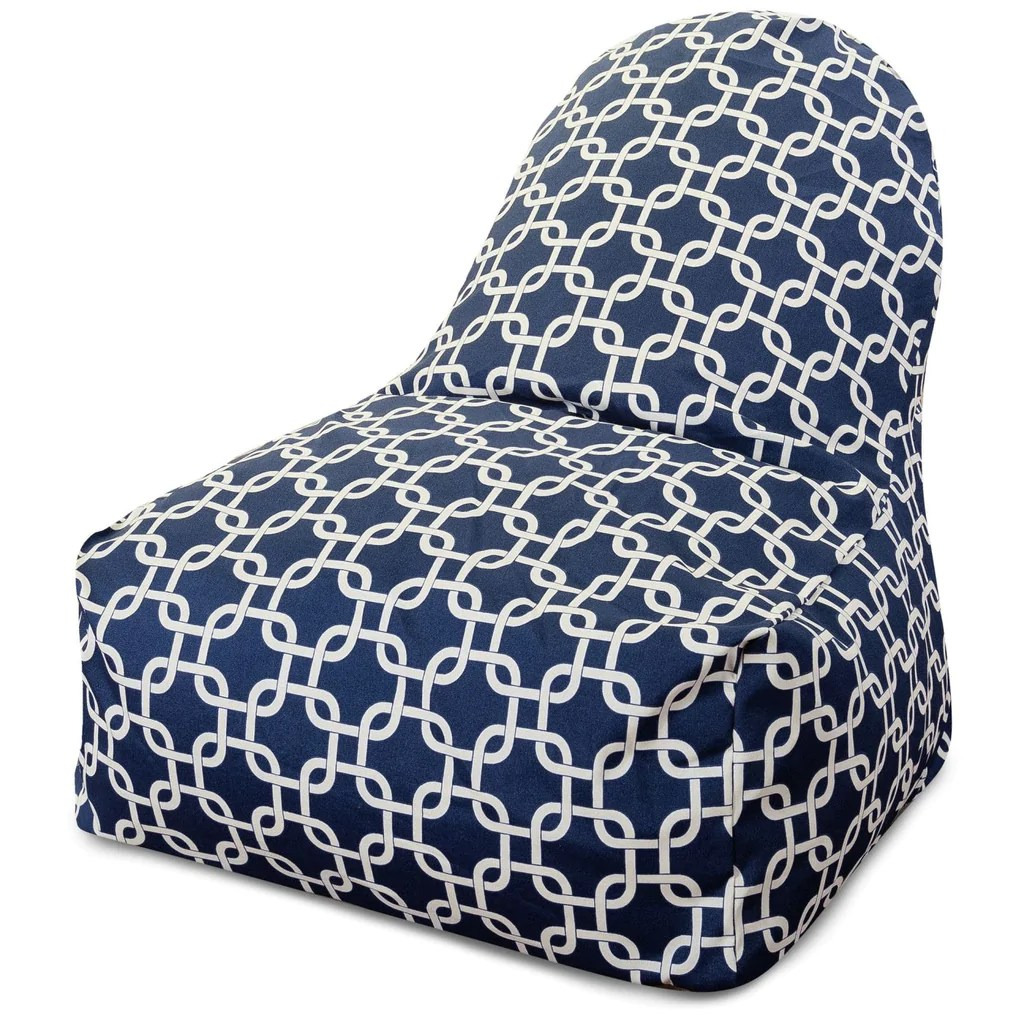 bean bag chair covers canada old school office amazing deal on majestic home 85907217003 navy blue links