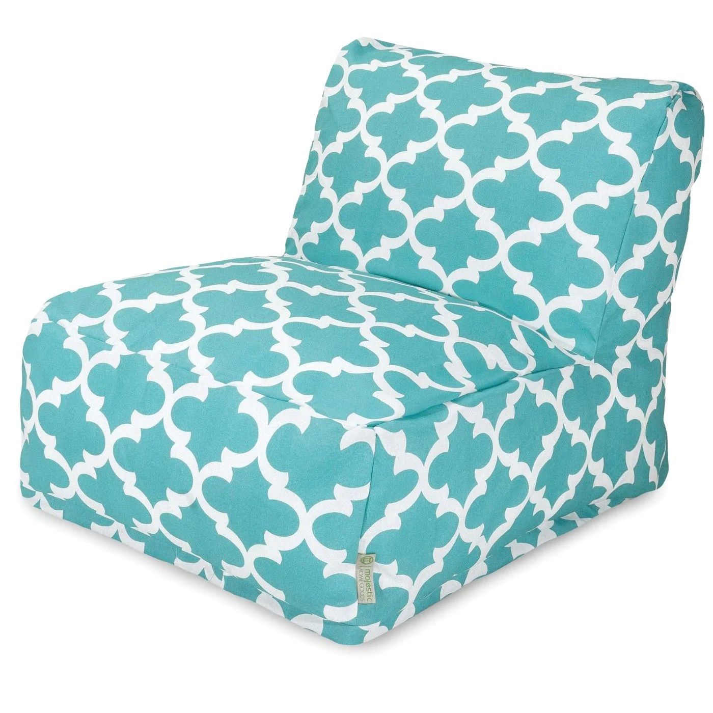 costco bean bag chair laugh learn musical learning majestic home 85907220391 teal trellis lounger