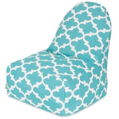 Teal Bean Bag Chair Wave Hill Amazing Deal On Majestic Home 85907227091 Trellis