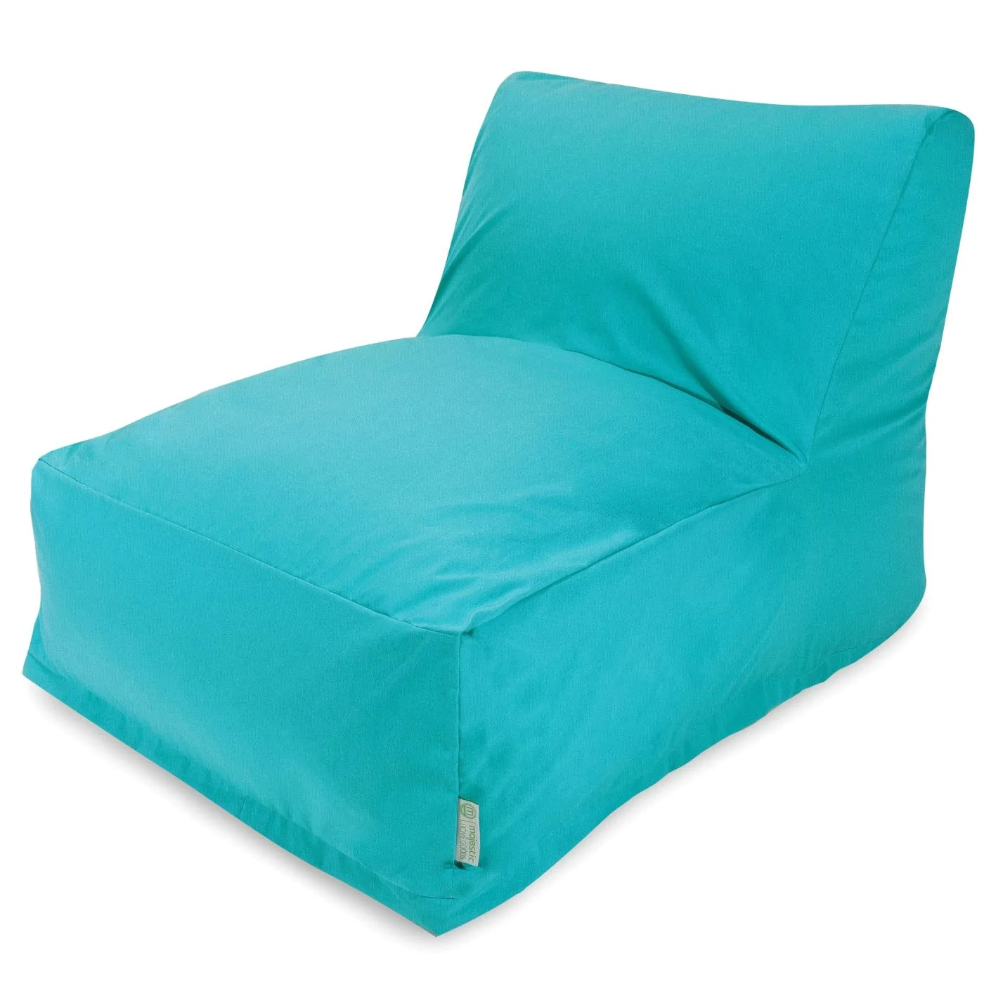 teal bean bag chair girls room majestic home lounger at contemporary