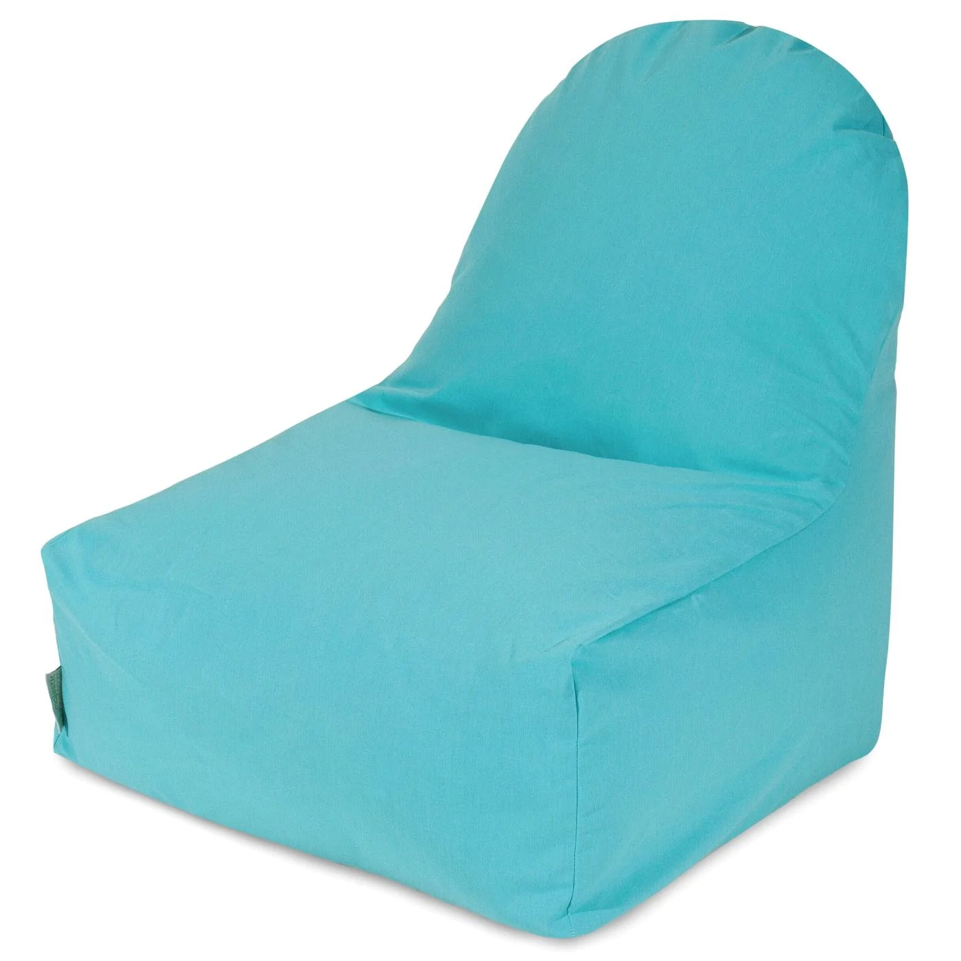 teal bean bag chair leather ottoman amazing deal on majestic home 85907251035 kick it