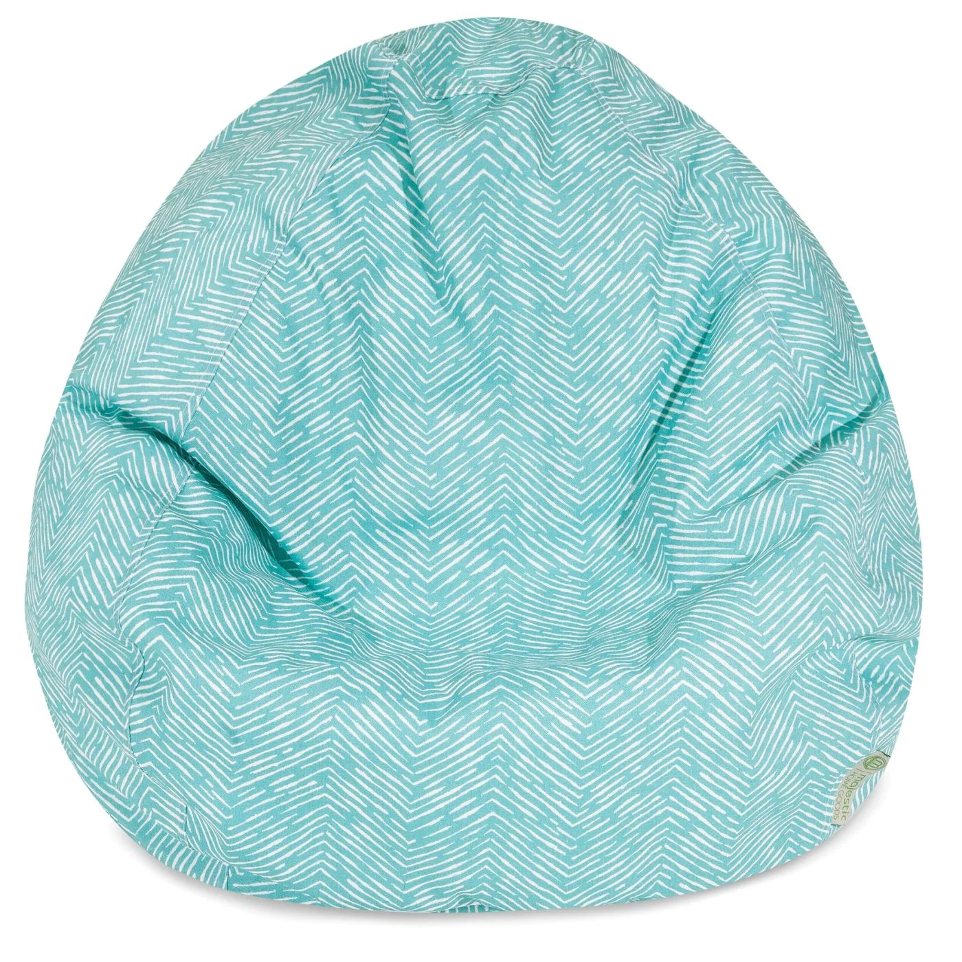 teal bean bag chair covers for weddings canada amazing deal on majestic home 85907224093 navajo