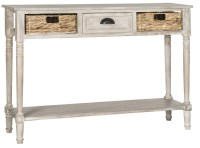 Buy Safavieh AMH5737E Christa Console Table With Storage ...