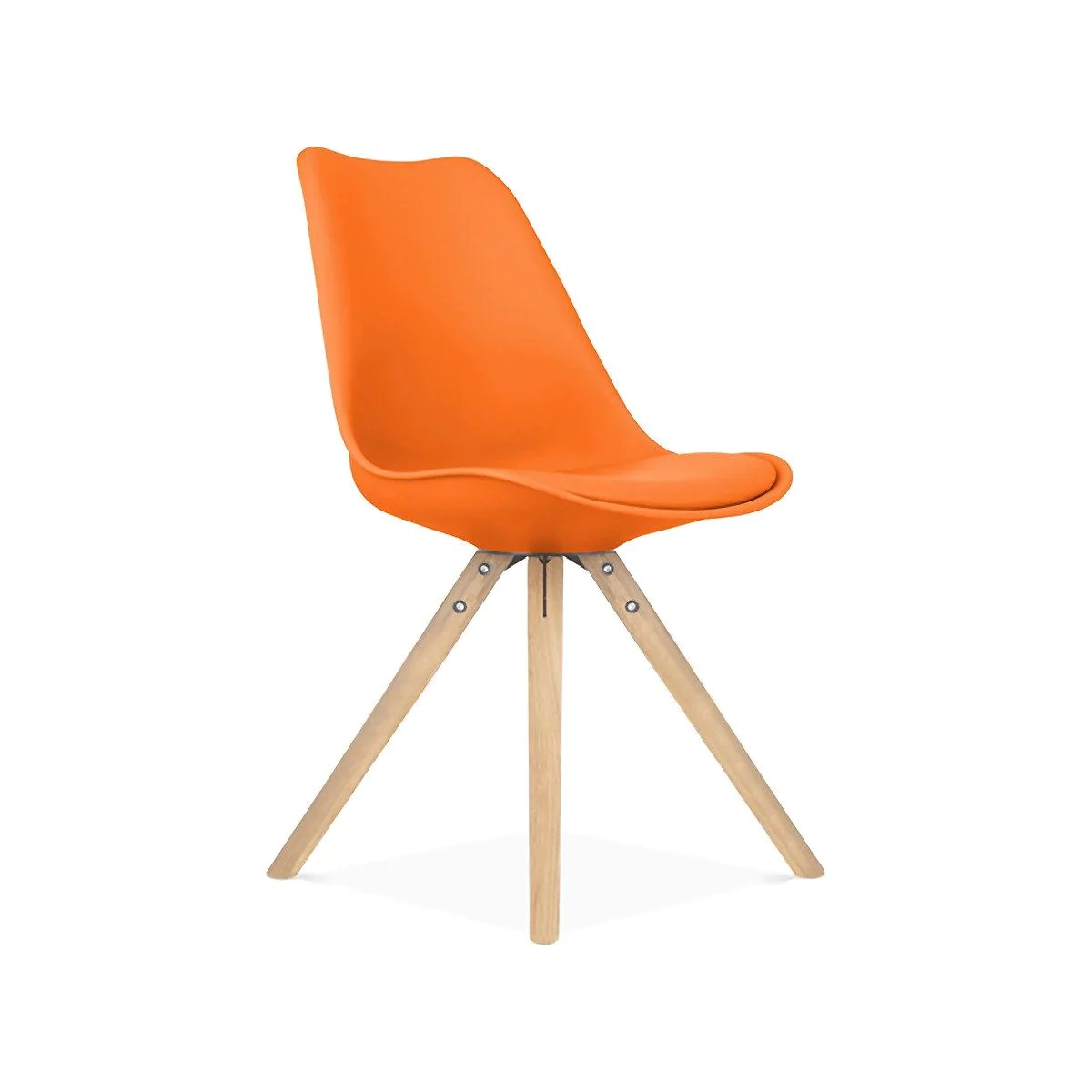 orange side chair toddler table and burnt dining chairs at contemporary furniture warehouse