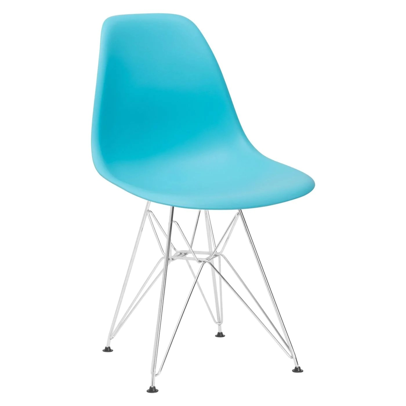 Aqua Dining Chairs Buy Edgemod Em 104 Crm Aqu Padget Side Chair In Aqua At Contemporary Furniture Warehouse