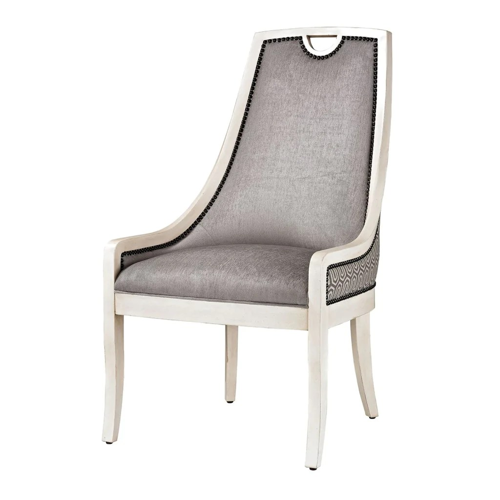 Silver Dining Chairs Stage Dining Chair Silver Grey White
