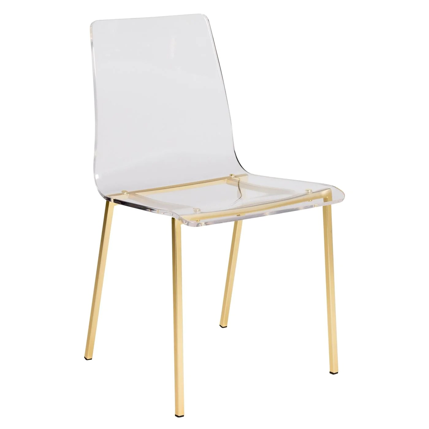 Acrylic Chair Buy Euro Style Euro 80940mbg Chloe Dining Side Chair In