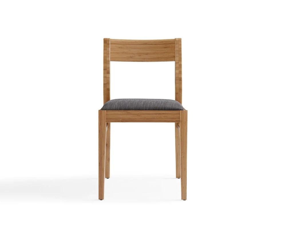 bamboo dining chair wedding table and rental prices buy greenington gl0002ca laurel carmalized set of 2 at contemporary furniture warehouse